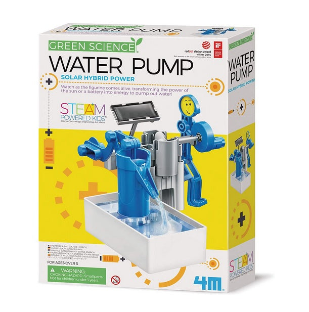 Green Science 4M Water Pump Solar Hybrid Power