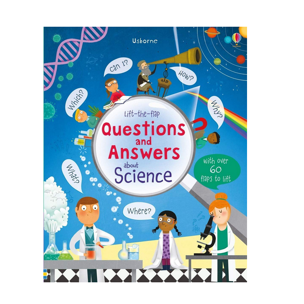 Usborne Lift-the-Flap Questions and Answers About Science
