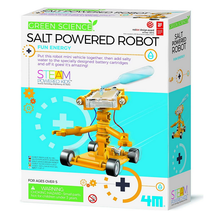 Load image into Gallery viewer, 4M Green Science Salt Water Powered Robot Kit