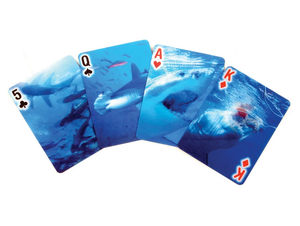 Shark Playing Cards Game