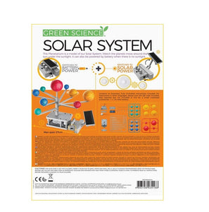 Green Science 4M Solar System Solar Hybrid Power- Motorized