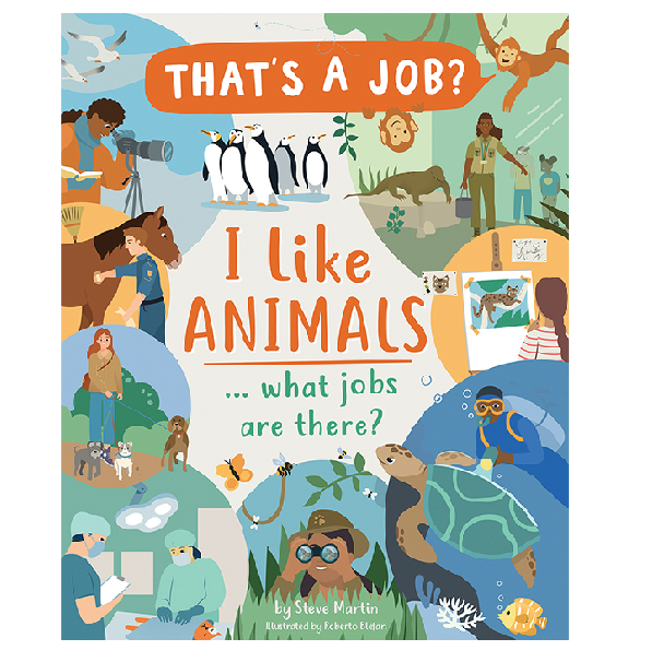 Usborne That's a job series I like animals what jobs are there