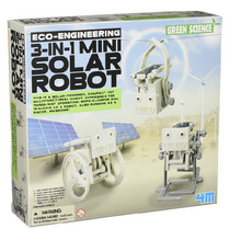 Load image into Gallery viewer, 4M 3-in-1 Mini Solar Robot