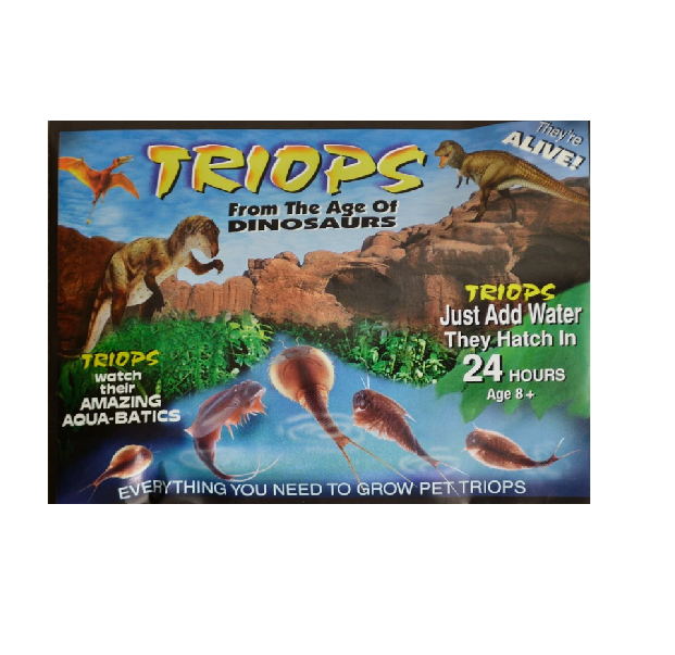 Triassic Triops pack