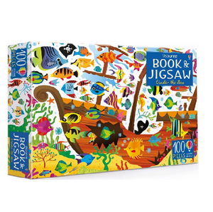 Usborne Book & Jigsaw Puzzle Under the Sea 100 pcs