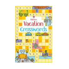 Load image into Gallery viewer, Usborne Vacation Crosswords