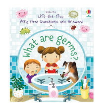 Load image into Gallery viewer, Usborne Lift-the-flap What are germs