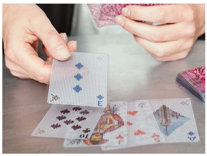 Pixel Playing Cards Game