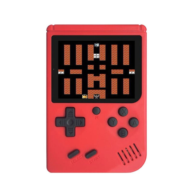 RS-6A Retro Game Console 8-Bit 3.0 Inch Player Built-in 168 Games