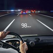Car speed projector