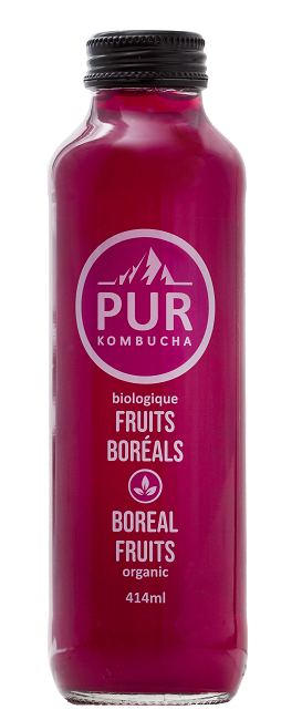 Kombucha fruits boréals - 12 X 414 ml