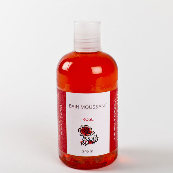 Bain moussant Rose - 250 ml