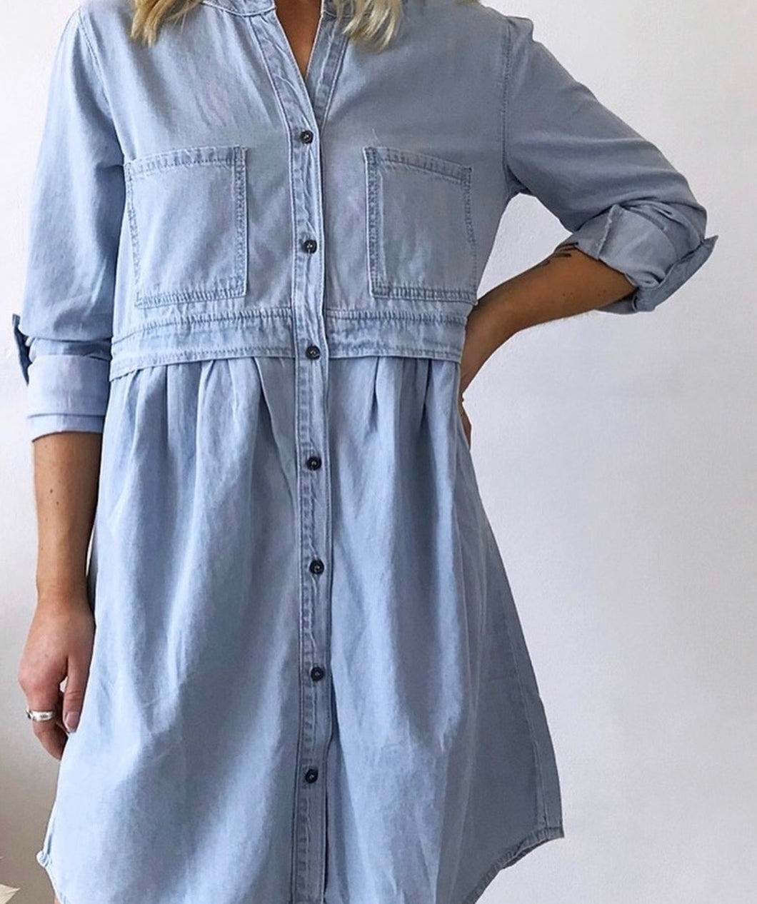 Debbie Denim Dress