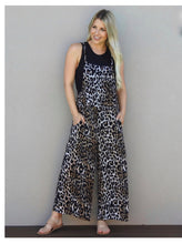 Load image into Gallery viewer, Leopard Print Overalls