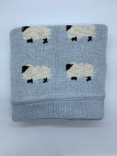 Load image into Gallery viewer, Counting Sheep Baby Blankets