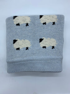 Counting Sheep Baby Blankets