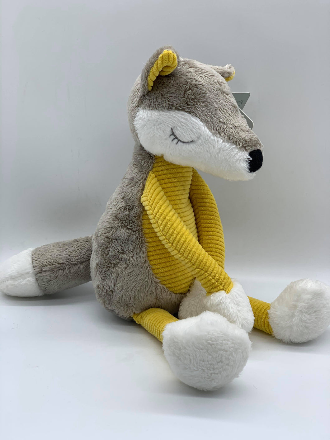 Doudou Mustard Plush Fox