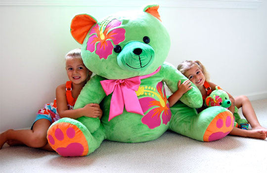 Oversized Makena Bear Plush Toy