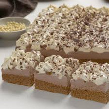 Load image into Gallery viewer, CHEESECAKE Tray Chocolate Bavarian Sara Lee