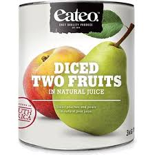 TWO Fruits Tinned 3kg