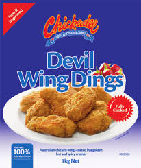 CHICK WING DING DEVIL Chickadee 1kg