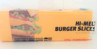CHEESE Slices Burger PURE 2.26kg