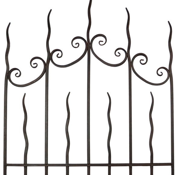 Trident Scroll Trellis Antique Finish