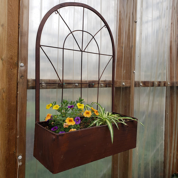 Window Pane Wall Planter