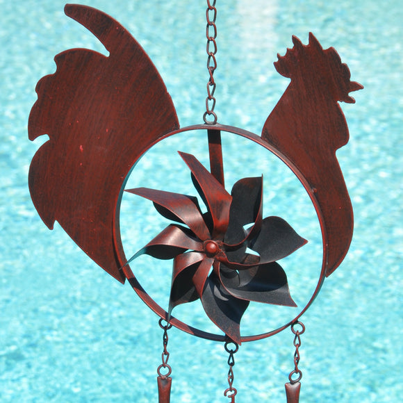 Rooster Windchime