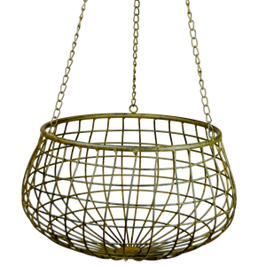 Mesh Wire Hanging Basket