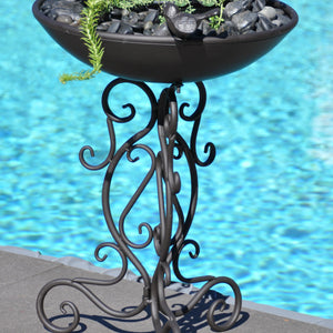 Bird Bath & Garden Planter