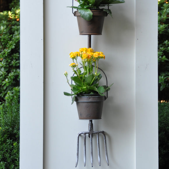 Pitchfork Wall Planter