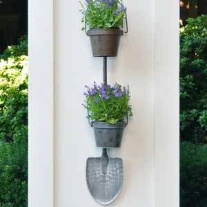 Shovel Wall Planter