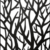 Decorative Metal Wall Art Forest