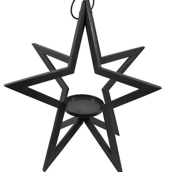 Foldable Star Hanging Planter w/ Saucer