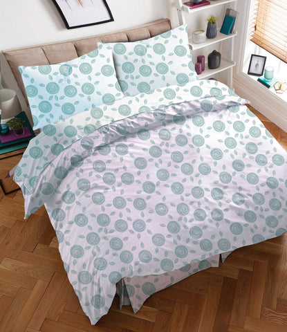 Twin/Single BED SHEET WITH COMFORTER SET