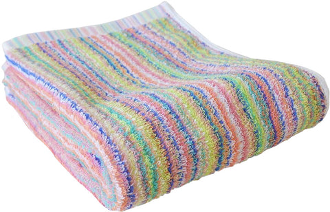 Single PC's Rainbow Bath Towel
