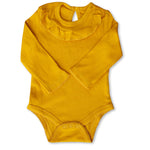 Single Pc's Mustard BABY ROMPER BODYSUIT