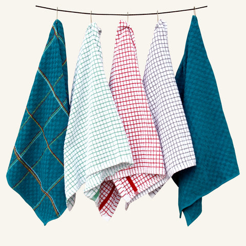 5Pc's Assorted Kitchen Towel