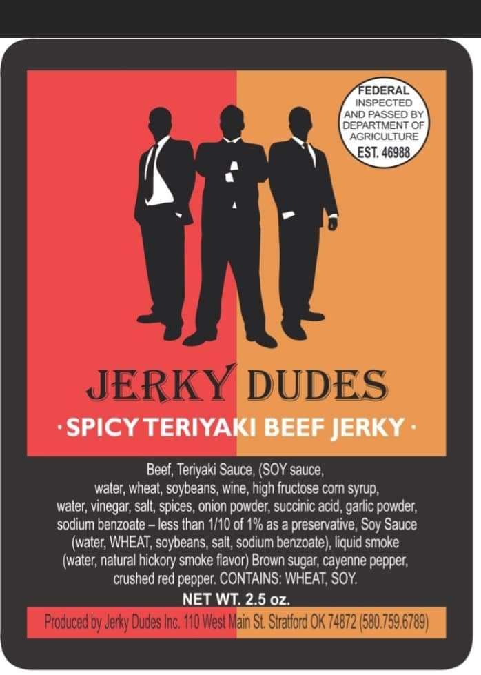 Spicy Teriyaki Beef Jerky
