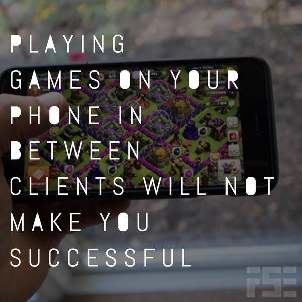 Playing Games Will Not Make You Successful
