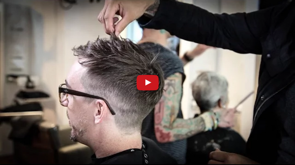 Textured Short Mens Haircut Tutorial | MATT BECK VLOG 64