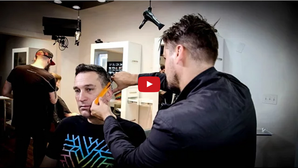 Mens Haircut Tutorial on my long time client John | MATT BECK VLOG 67