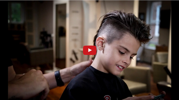 How To Cut A Mohawk | Kids Haircut Tutorial | MATT BECK VLOG 72