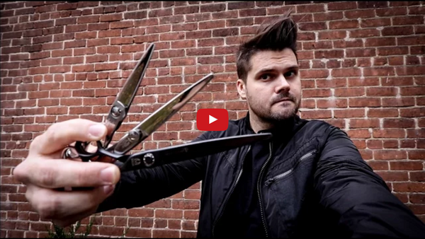 Scissor Over Comb | Best Haircutting Scissor for Scissor Over Comb MATT BECK VLOG 84