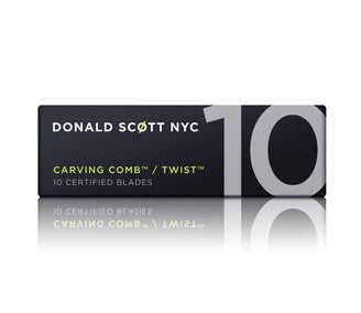 DONALD SCOTT CARVING COMB - WIDE