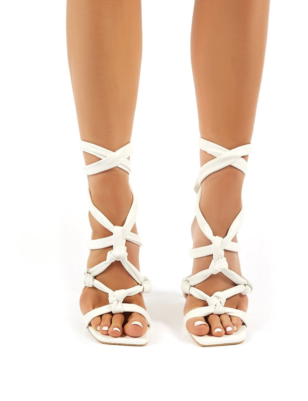 Heels   Lace Up Heels   Womens Shoes