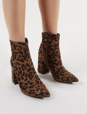 Empire Pointed Toe Ankle Boots in
