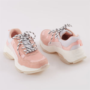 Amfo Chunky Trainers in Pink