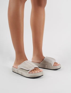 Revel Sliders in Grey